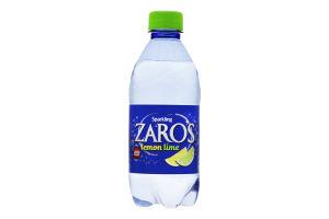 Вода мінеральна газована Lemon Lime Zaro's п/пл 0.33л