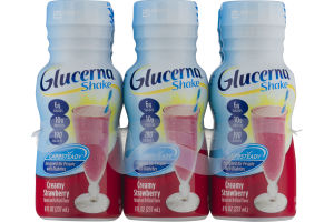 Glucerna Shake Carbsteady Creamy Strawberry - 6 PK