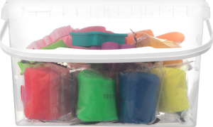 Набор для творчества №TA1068V 12 цветов Тесто-пластилин Genio Kids 1шт