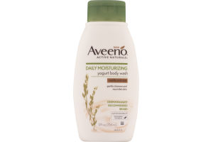 Aveeno Active Naturals Daily Moisturizing Yogurt Body Wash Vanilla And Oats