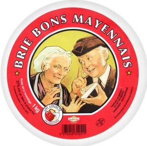 Сир 50% Брі Bons Mayennais кг
