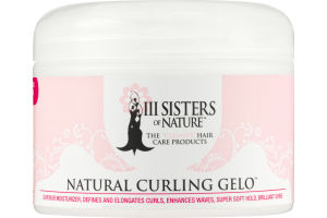 III Sisters of Nature Natural Curling Gelo