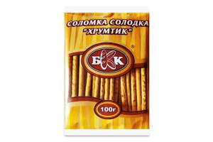 Соломка солодка Хрумтик БКК м/у 100г