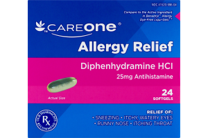 CareOne Allergy Relief - 24 CT