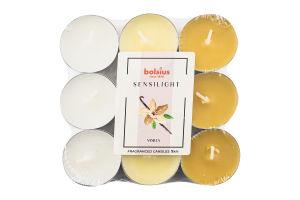 Свечки Bolsius Ваниль чайные ароматизированные
