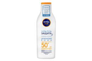 Cонцезахисний лосьйон Ультра Захист для чутливої шкіри SPF50+