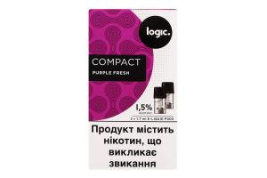 Картридж 1.5% Purple Fresh Compact Logic 2шт