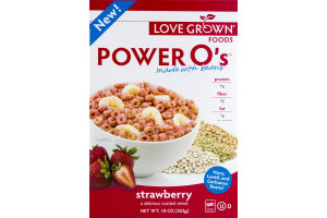 Love Grown Foods Power O's Strawberry