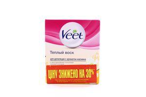 Воск теплый для депиляции с ароматом жасмина Veet 250мл