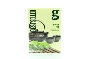 Чай зеленый листовой с мелиссой Green Tea Bestseller Gr@ce к/у 75г