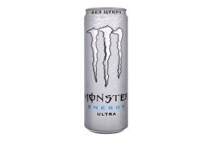 Напій безалкогольний сильногазований енергетичний Ultra Monster Energy з/б 355мл