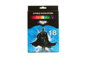 Олівці кольорові 18шт