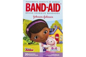 Band-Aid Adhesive Bandages Assorted Sizes - 20 CT