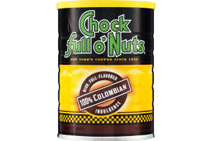 Chock full o' Nuts 100% Colombian Ground Coffee