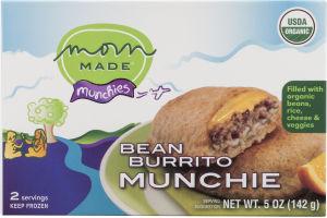Mom Made Munchies Bean Burrito Munchie - 2 CT