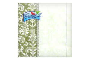 Серветки з малюнком бенкетні 33х33 20 штук Tissue club