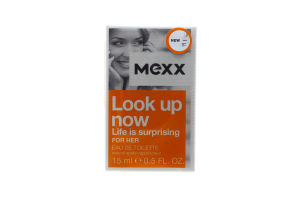 Mexx Look Up Now жін.т/вода 15мл