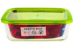 Ємність для їжі прямокутна 760мл Lum. Keep'n Box G8412