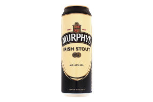 Пиво 0.5л 4.0% темное Murphy's Irish Stout ж/б