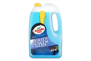 Рідина миюча для скла незамерзаюча №W-4047 Рідке полум'я Turtle Wax 4л