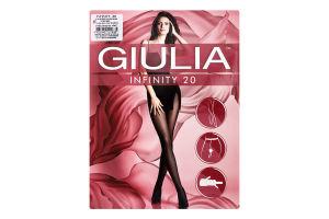 Колготки жіночі Giulia Infinity 20den 4-L daino