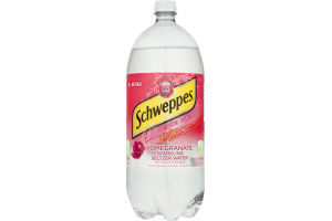 Schweppes Sparkling Seltzer Water Pomegranate