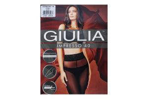 Колготки жіночі Giulia Impresso 40den 3-М nero