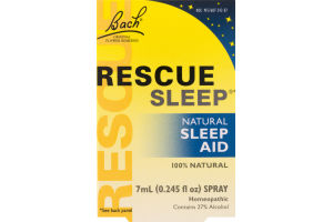 Bach Rescue Sleep Natural Sleep Aid Spray