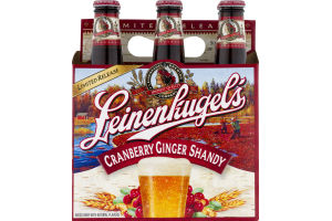 Leinenkugel's Cranberry Ginger Shandy - 6 PK