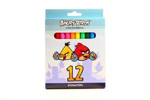 Набор фломастеров Cool for School Angry Birds к/у 12 цветов арт.AB03131