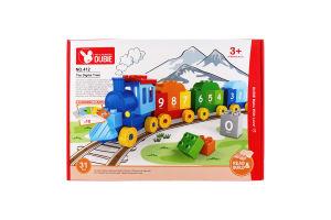 Конструктор Учимся считать поезд 31дет D`1