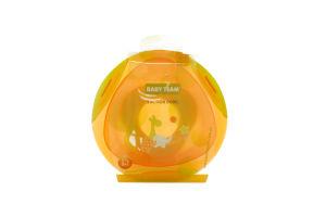 Тарелка на присоске для детей от 6-ти месяцев №6004 Baby Team 1шт