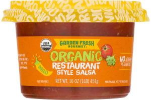 Garden Fresh Gourmet Organic Salsa Restaurant Style Mild