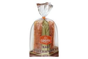 Хліб нарізний Пшеничний із борошна І сорту Рум'янець м/у 350г