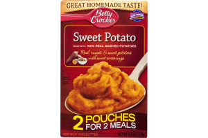 Betty Crocker Sweet Potato Pouches - 2 CT