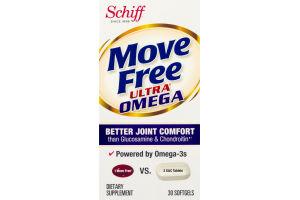 Schiff Move Free Ultra Omega Softgels - 30 CT