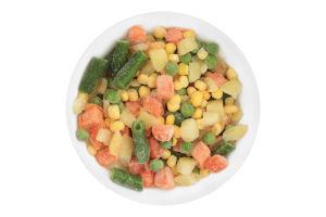 Смесь овощная быстрозамороженная Мексиканская ООО Агродар-Украина Плюс кг