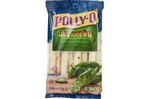Polly-O String Cheese Jalapeno - 12 CT