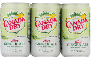 Canada Dry Diet Ginger Ale - 6 CT