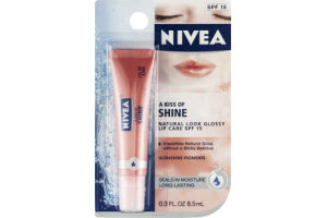 Nivea Lip Care A Kiss of Shine Glossy - SPF 15