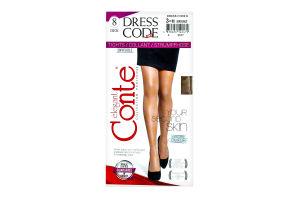 Колготи жін. DRESS CODE 8, р.3, bronz 1 шт