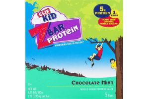 Clif Kid Z Bar Protein Chocolate Mint - 5 CT