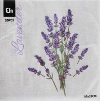 Набор салфеток Цветы 20шт в ассортименте
