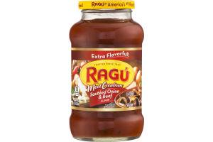 Ragu Meat Creations Sauteed Onion & Beef Sauce