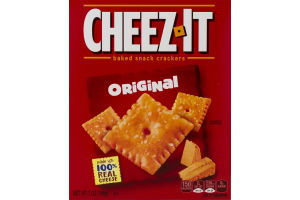 Cheez-It Baked Snack Crackers Original
