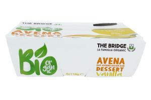 Десерт овсяный The Bridge с ванилью органический
