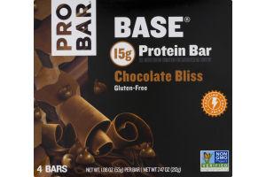 PROBAR Base Protein Bar Chocolate Bliss - 4 CT