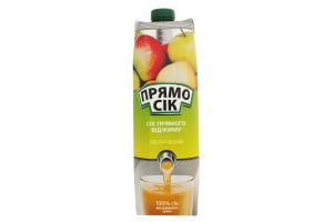 Сок яблочный неосветленный ПрямоСік т/п 0.95л