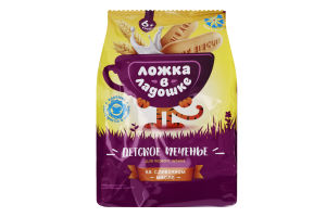 Печиво для дітей з 6міс до 3років розчинне Ложка в ладошке м/у 150г