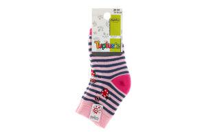 """Шкарпетки дитячі TUPTUSIE махрові 197 (дівчинка) р.13-15, 1 шт (ТМ """"TUPTUSIE"""")"""